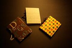 Quarter Size Blank Journals
