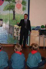 Michael Gove MP talking