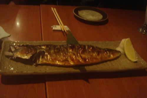 北海道產鹽燒鯖魚