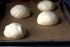 buns, ready for second rise
