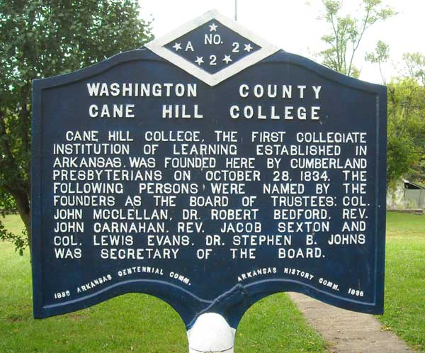 College Historical Marker