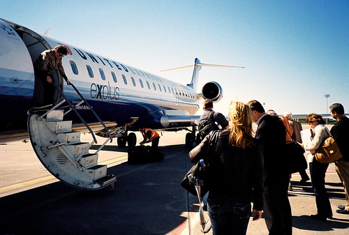 runway deplaning