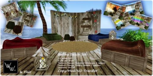 W. Winx Ballina Beach Set ad
