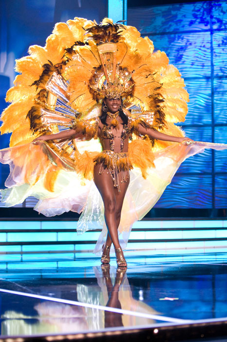 Traje Típico de Miss Bahamas
