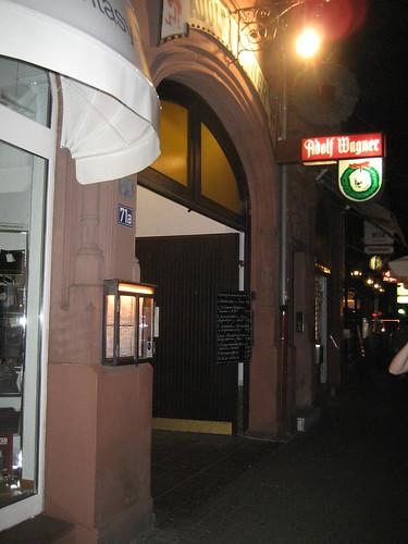 Dónde comer y gastronomía en Frankfurt (Alemania) - Restaurante alemán Adolf Wagner.
