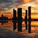 Miami sunset explosion -III