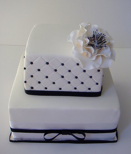 4066730961 263a52d7a1 Baú de ideias: Decoração de casamento preto e branco