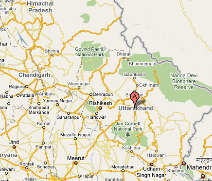 Google Maps India Border