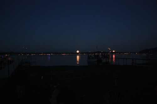 Fireworks Around the Lake