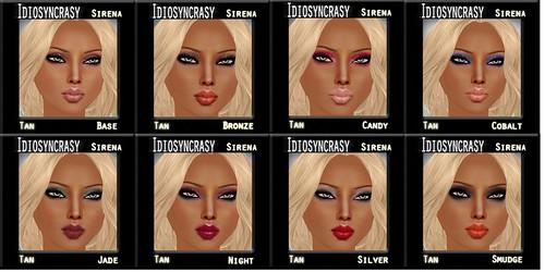 sirena tan makeups