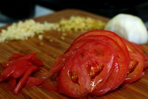 Prawn Head Vegetable Ingredients