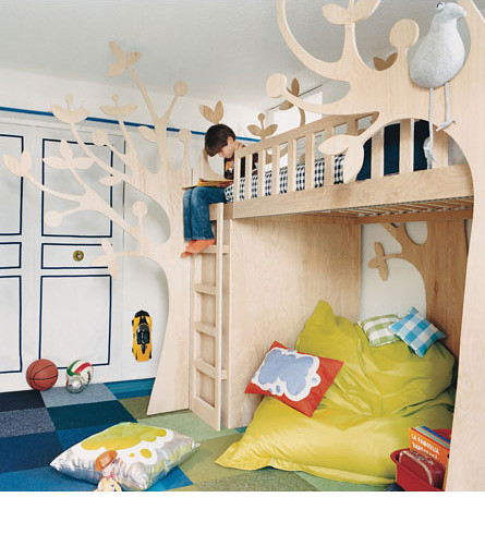 the estate of things chooses tree bunk beds