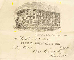 Indian Queen Hotel 1850