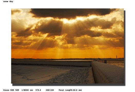 Canvey Island Sea Wall - December 2009