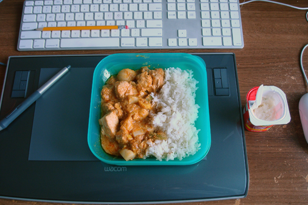 8-25, working lunch