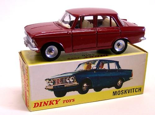 Dinky F Moskvitch