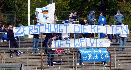 """""""Zerschlagt die Ketten des WFLV"""""""