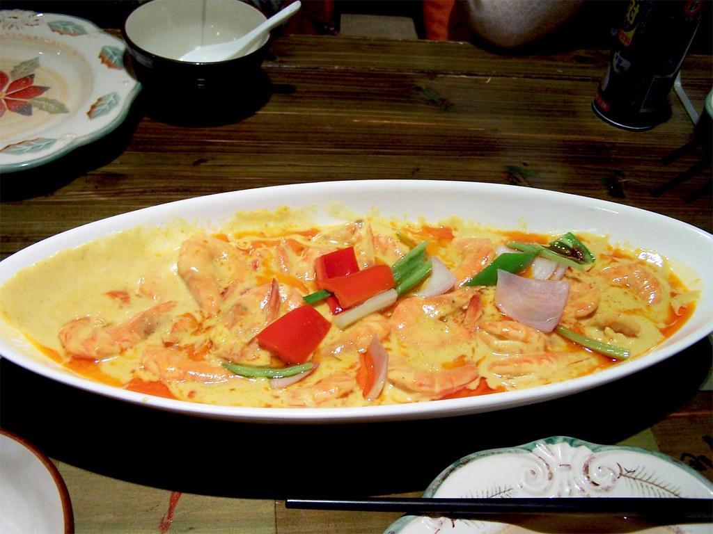 Crevettes cury