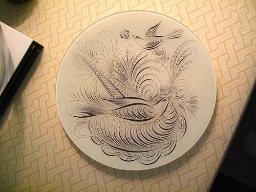 Christmas present from Simon. Fringe Studio plate.