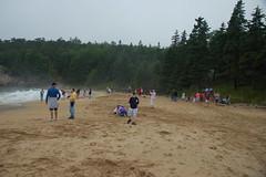 Sandy Beach in Acadia