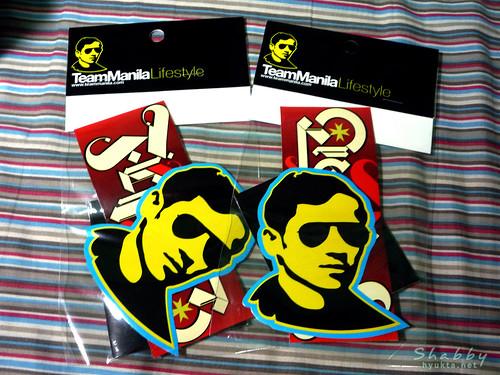 TeamManila Stickers