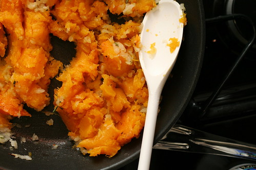 Baked Shells with Winter Squash
