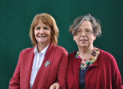 Theresa Breslin and Adèle Geras