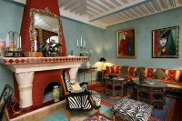 Living Rooms of Riads in Marrakech - Moroccan Interior design