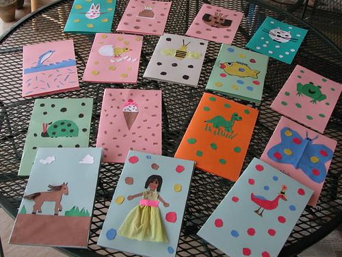 Handmade Birthday Party Invitations
