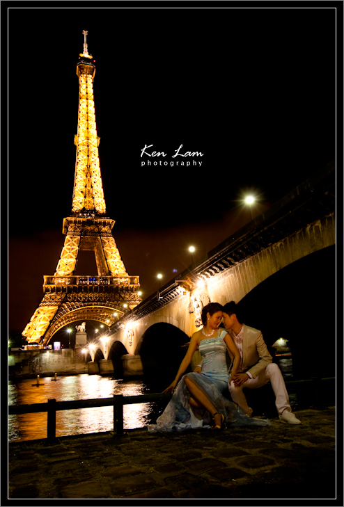 Joyce & Edward - Pre-wedding in Paris