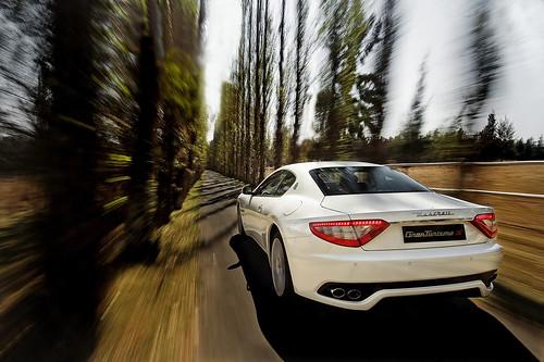 Maserati GranTurismo Rear Rig Shot by ohirtenfelder.