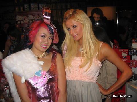 Chubby Bunny & Paris Hilton