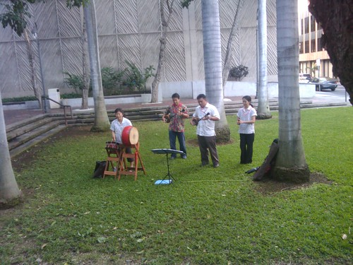 Okinawan Ensemble:  Closing Day of Voices from Okinawa