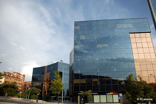 Vista de los llamados «Edificios Inteligentes»