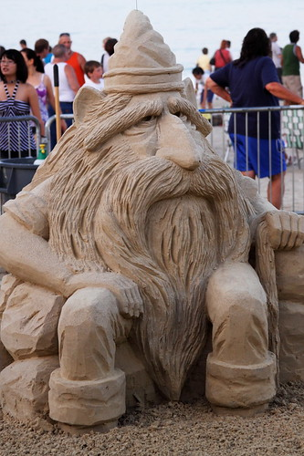 sand sculpture at revere beach 1