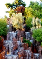 Fountain at the Wynn in Las Vegas