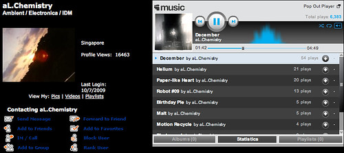 Creative Commons adopter: aL.Chemistry on MySpace Music - Free Streaming MP3s, Pictures & Music Downloads