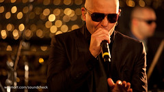 Pitbull on Walmart Soundcheck