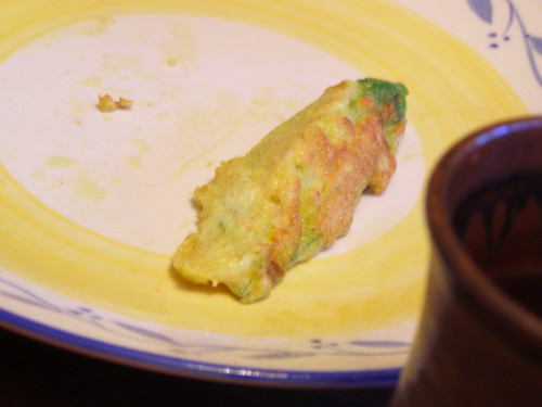 fried stuffed squash blossoms