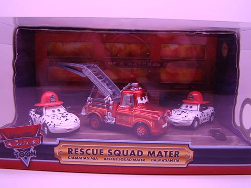 Disney CARS SDCC Rescue Squad Mater,Mia n Tia
