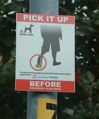 Dog Fouling Sign, Ashton-under-Lyne