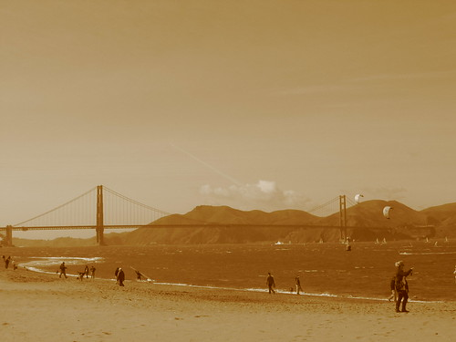 The Golden Gate from Chrissy Fields
