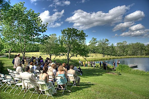 Lovely day for a wedding