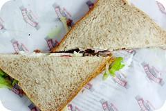Day 337 - Tuna and Salad Sandwich