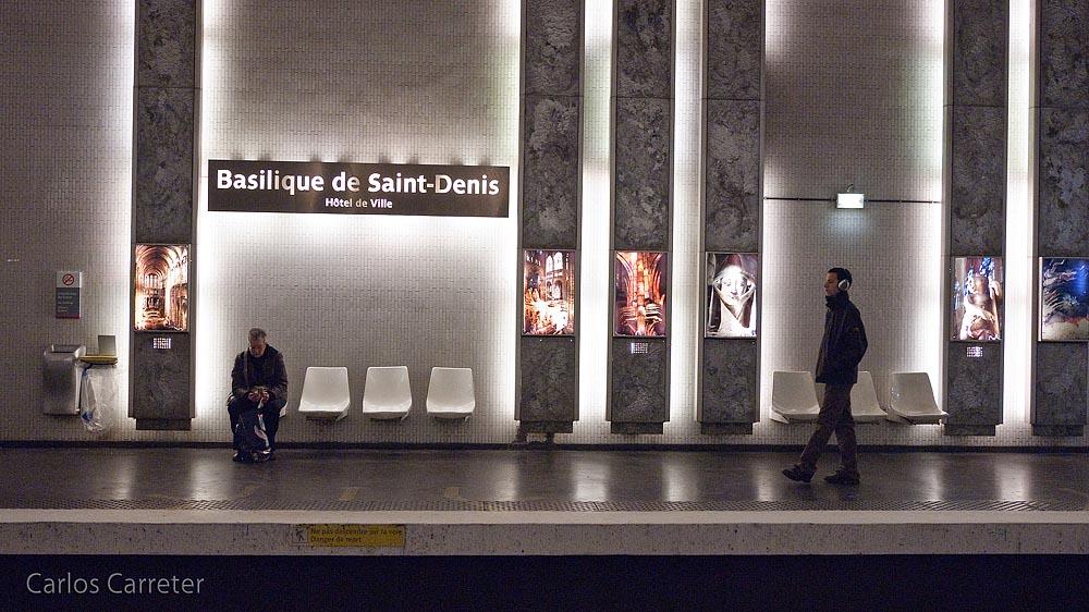 Metro Basilique de Saint-Denis