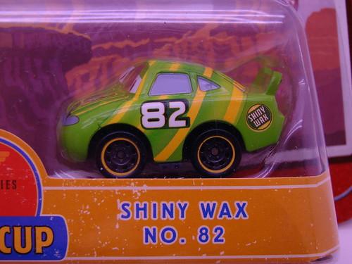 Disney CARS mini adventures shiny wax RPM64