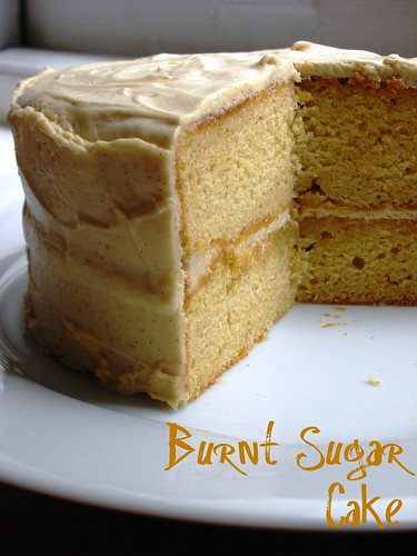 burnt sugar cake