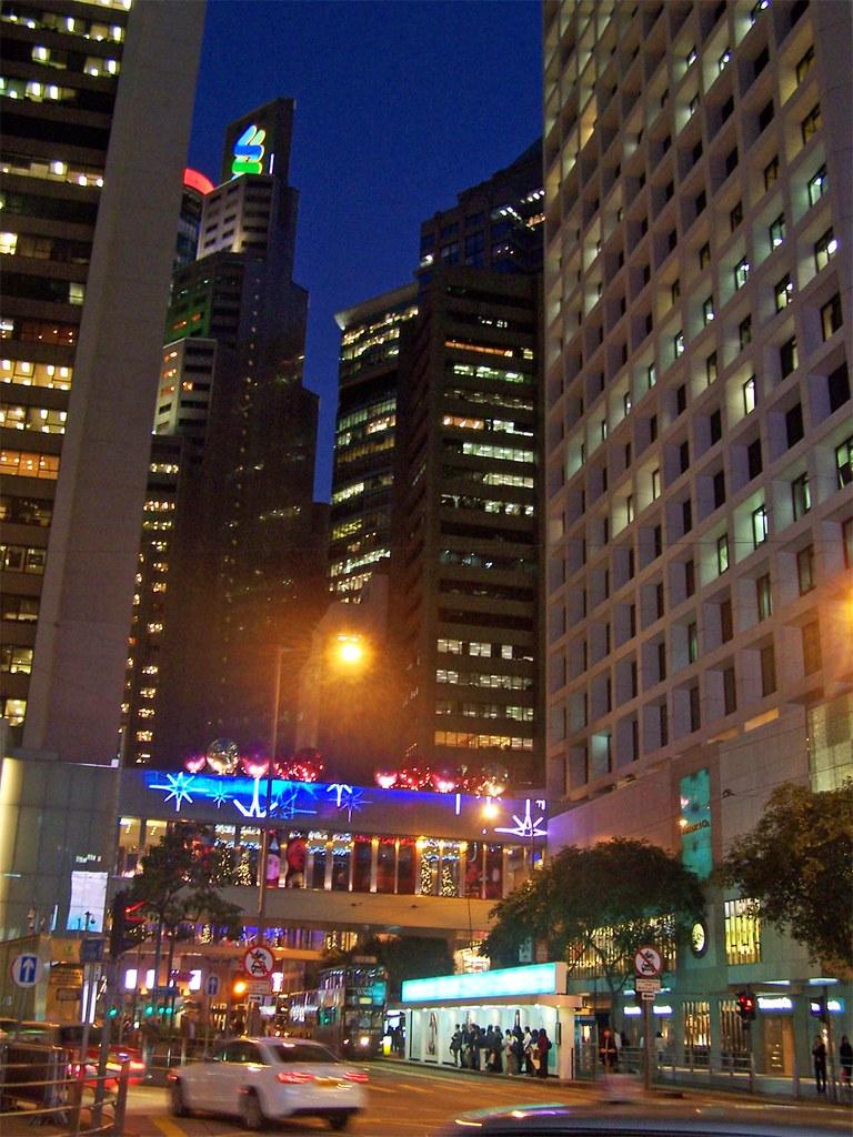 HK by night