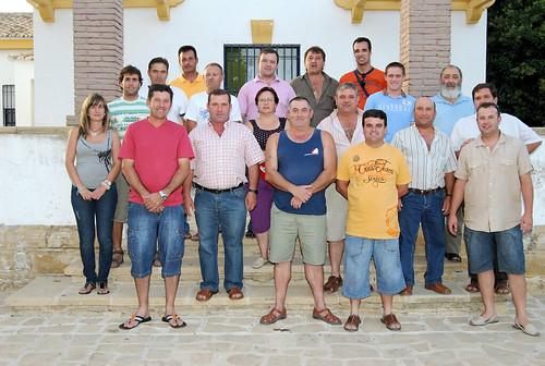 Participantes y colaboradores del curso