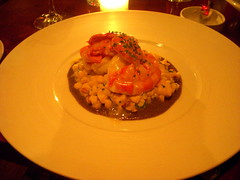 Butter Poached Lobster, Braeburn